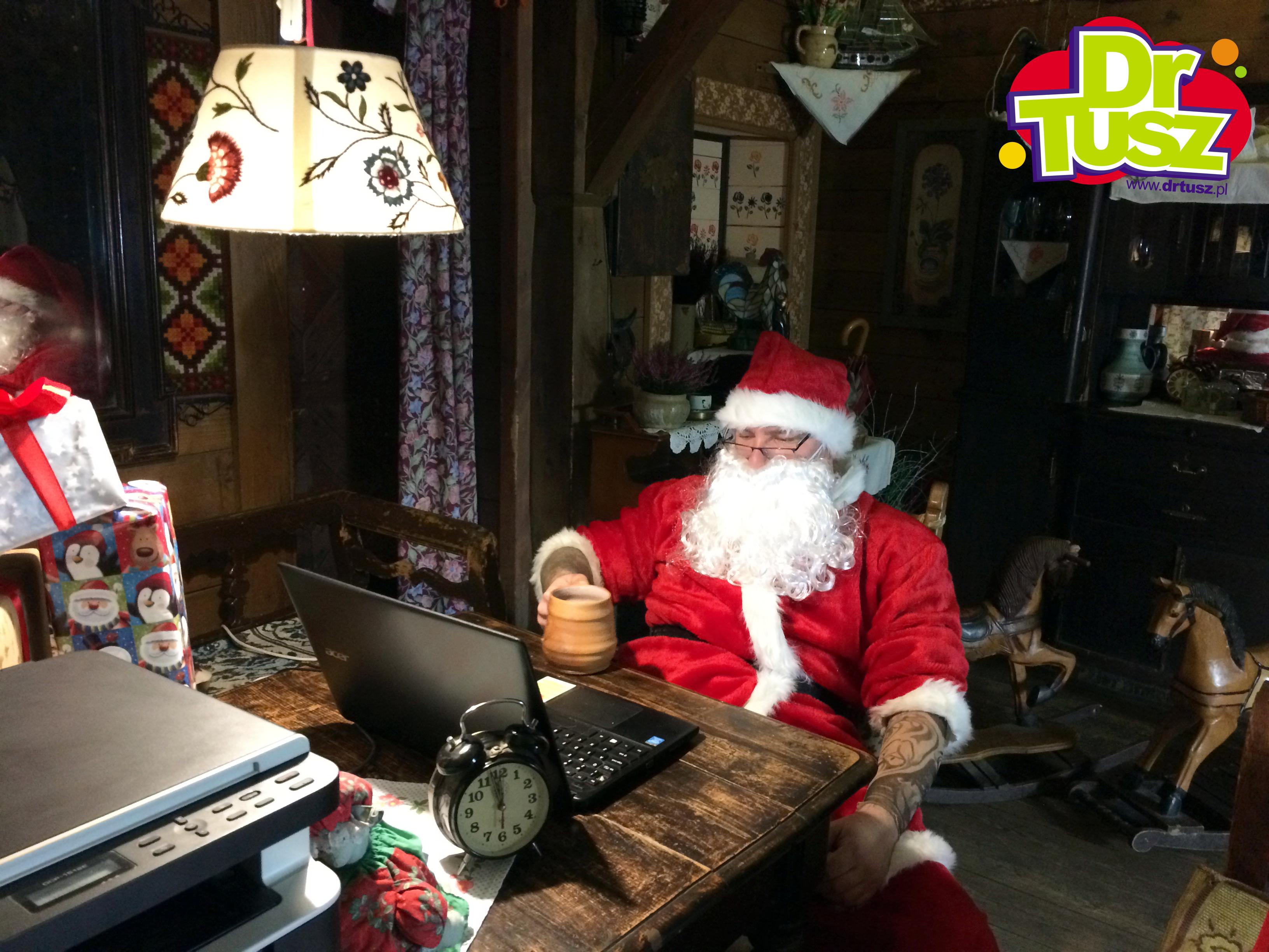 Zobacz, jak DrTusz ratuje Święta