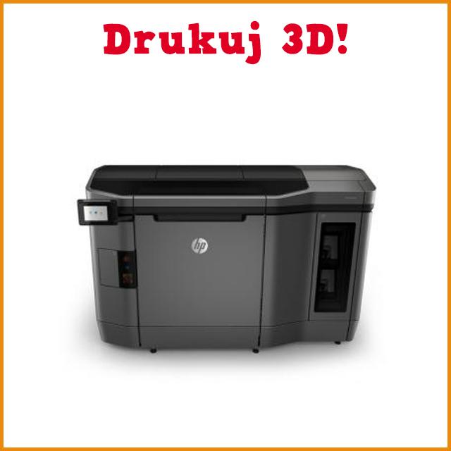 Kolorowa drukarka 3D HP – rewolucyjnie albo wcale