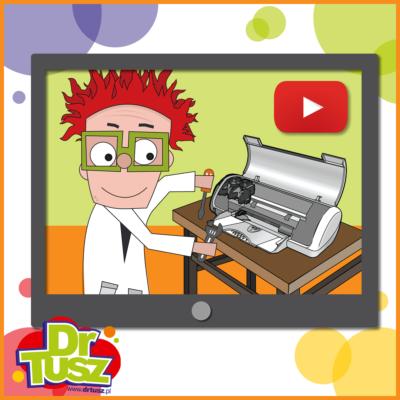 Serwis drukarki na YouTube!