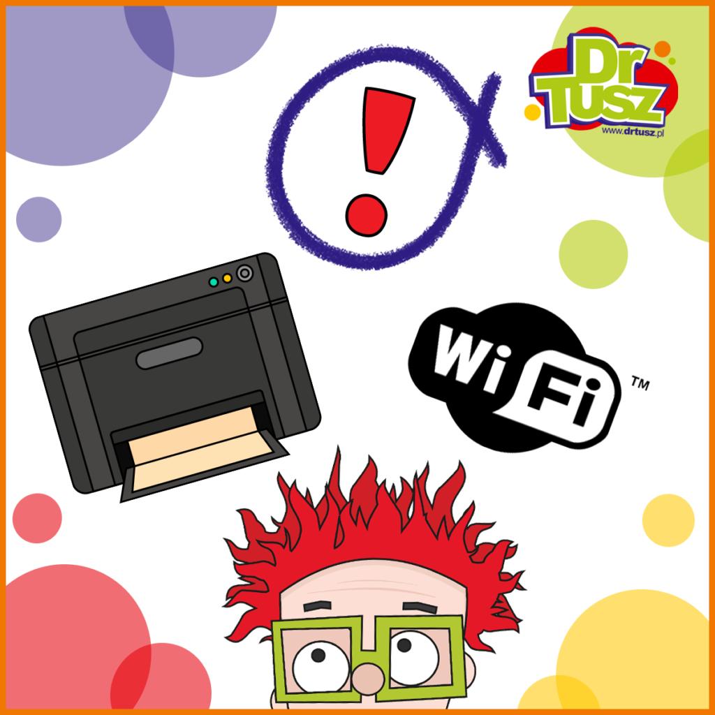 Drukarka Wi-Fi nie drukuje