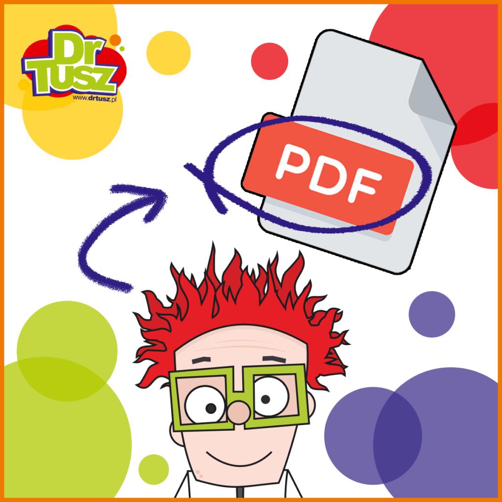 Drukowanie do pliku PDF