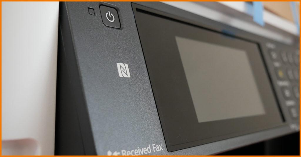 drukarka z NFC