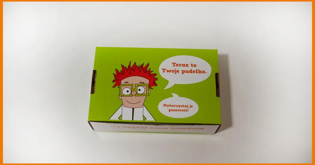 Nowe pudełko na tusz